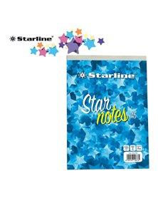 Blocco Note A5 15x21cm 5mm 60gr 60Fg StarNotes Starline