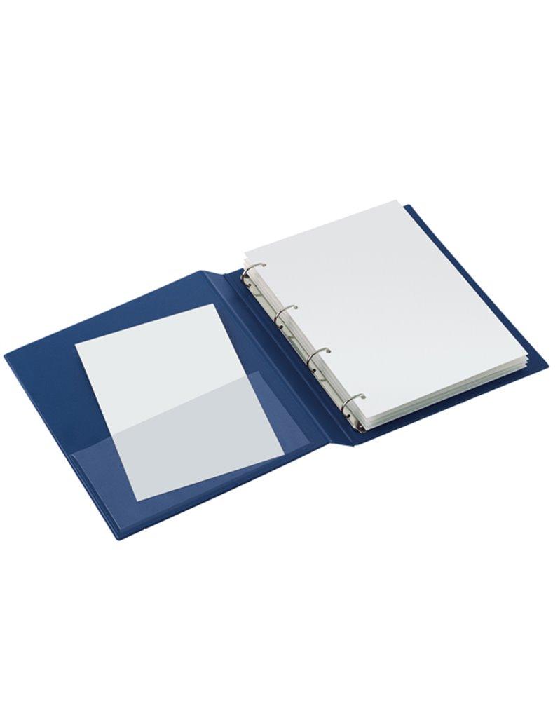 Raccoglitore SANREMO 2000 40 C 4D blu 22x30cm SEI ROTA
