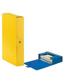 Scatola progetto C26 25x35cm dorso 6 giallo ESSELTE