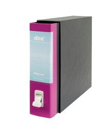 Registratore New Dox 1 rosa dorso 8cm f.to commerciale Esselte