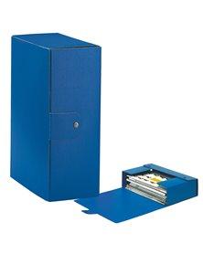 Scatola progetto C32 25x35cm dorso 12 blu ESSELTE