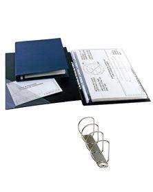 Raccoglitore SANREMO 2000 25 4D nero 30x42cm A3-libro SEI ROTA