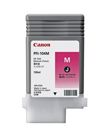 CARTUCCIA PFI-104 MAGENTA IPF650 655 750 755