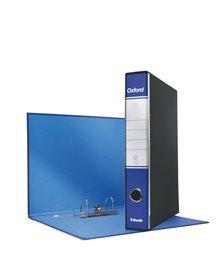 Registratore OXFORD G84 blu dorso 5cm f.to protocollo ESSELTE