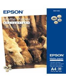 CARTA FOTOGRAFICA MATTE 50fg 167gr 210x297mm A4 ALTO SPESSORE EPSON