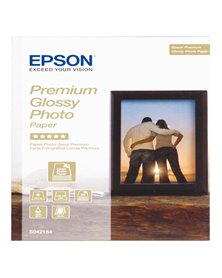 "CARTA FOTOGRAFICA LUCIDA PREMIUM BEST 30fg 255gr 13x18cm (5X7"") EPSON"
