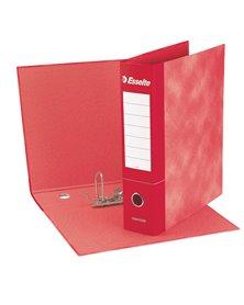 Registratore ESSENTIALS G73 rosso dorso 8cm f.to commerciale ESSELTE