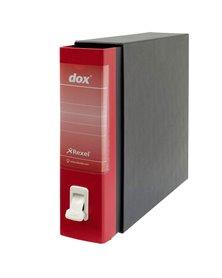 Registratore New Dox 1 rosso dorso 8cm f.to commerciale Esselte