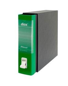 Registratore New Dox 1 verde dorso 8cm f.to commerciale Esselte