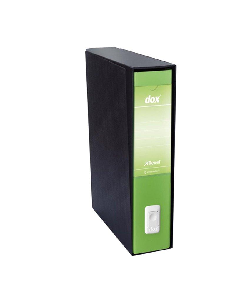 Registratore Dox 4 verde dorso 5cm f.to commerciale Esselte