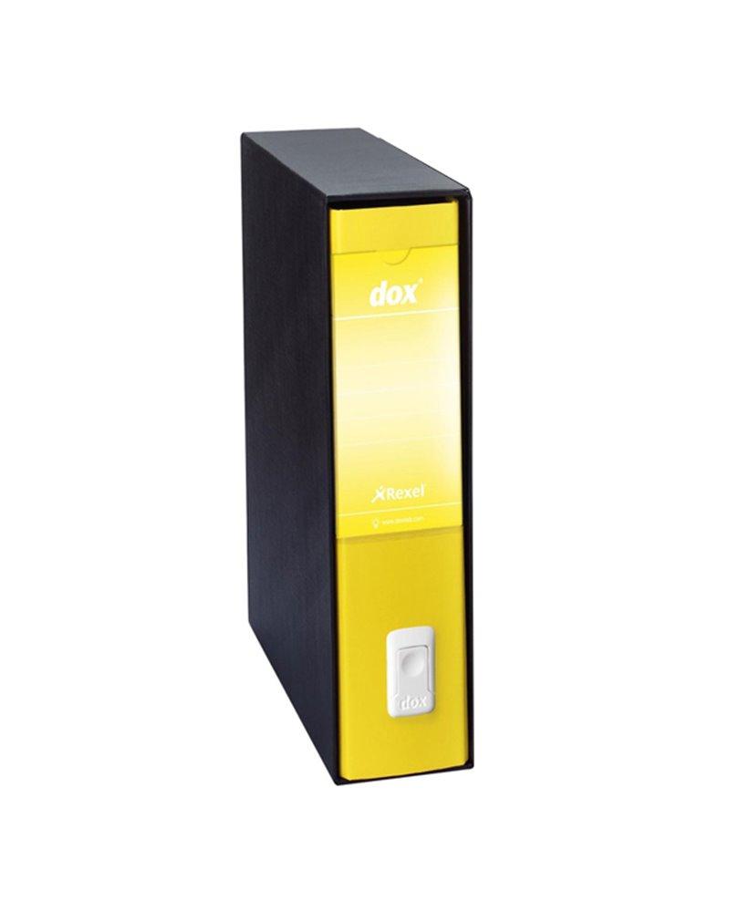 Registratore Dox 5 giallo dorso 5cm f.to protocollo Esselte