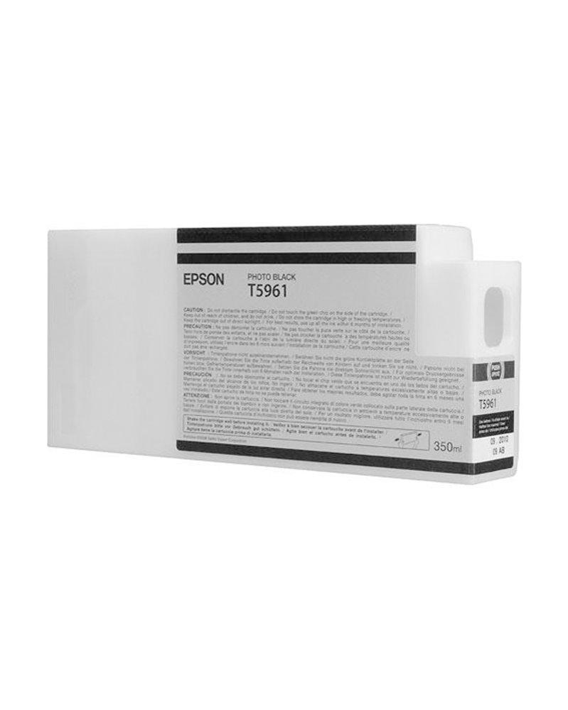 TANICA INCHIOSTRO A PIGMENTI NERO-FOTO EPSON ULTRACHROME HDR(350ML)