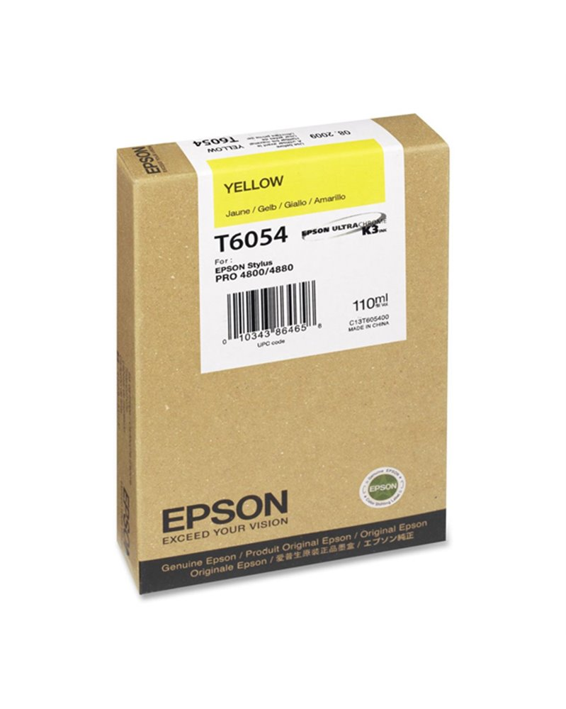 TANICA INCHIOSTRO A PIGMENTI GIALLO EPSON ULTRA-CHROME K3 110ML