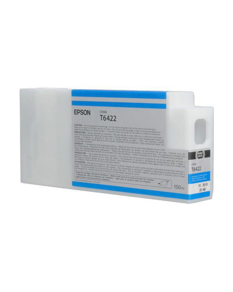TANICA INCHIOSTRO A PIGMENTI CIANO EPSON ULTRACHROME HDR(150ML