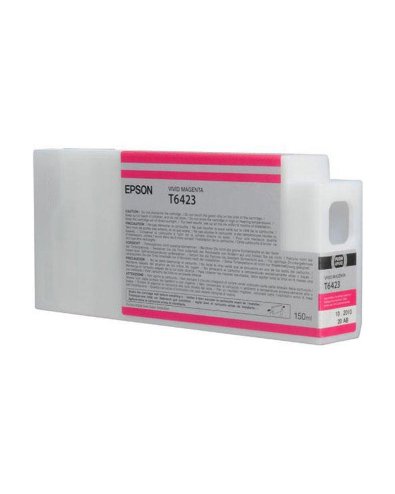 TANICA INCHIOSTRO A PIGMENTI VIVID-MAGENTA EPSON ULTRACHROME HDR(150ML)