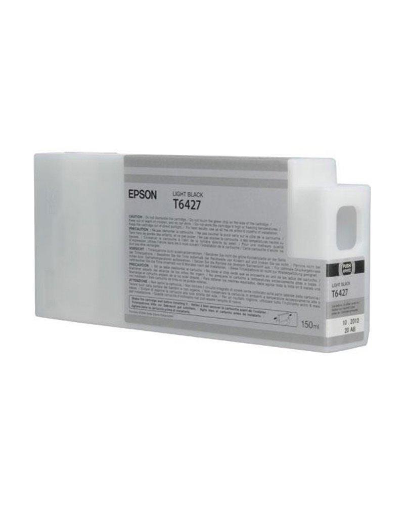 TANICA INCHIOSTRO A PIGMENTI NERO-LIGHT EPSON ULTRACHROME HDR(150ML)
