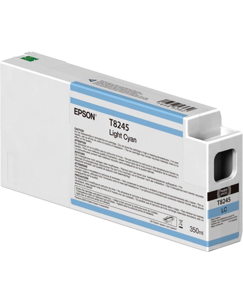 TANICA INCHIOSTRO LIGHT CIANO 350 ML X PLOTTER EPSON SURECOLOR SERIES
