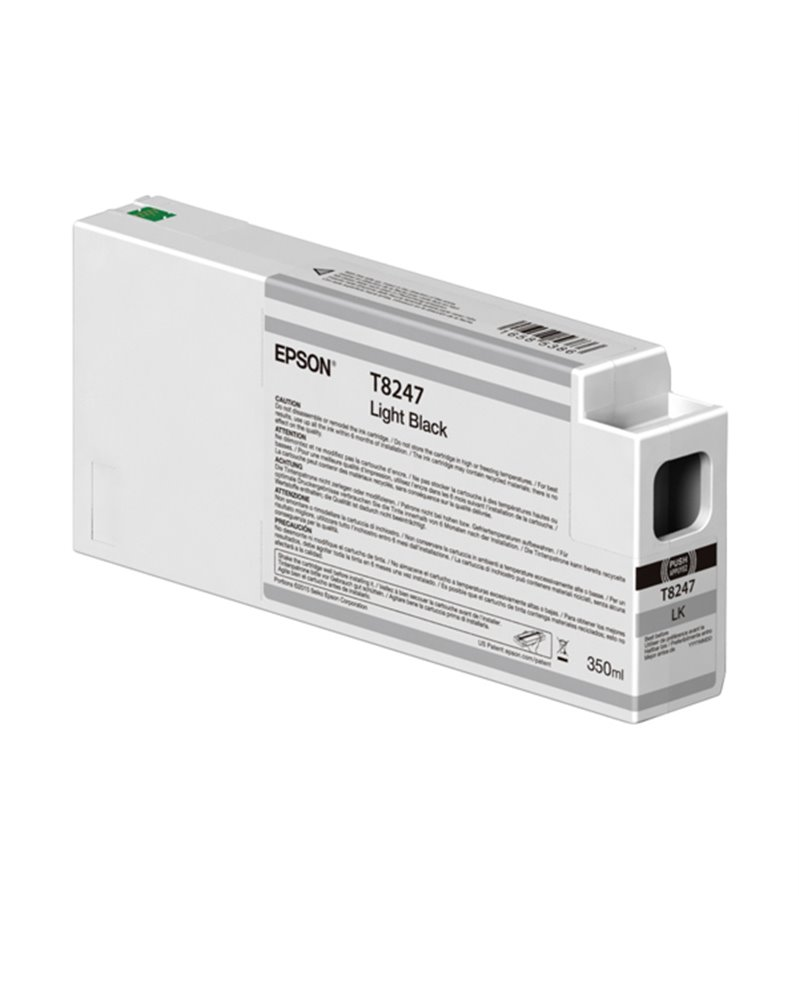 TANICA INCHIOSTRO LIGHT BLACK 350 ML X PLOTTER EPSON SURECOLOR SERIES