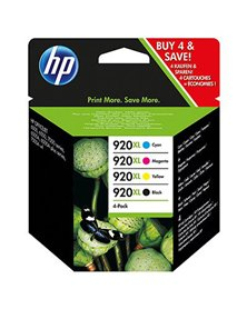 COMBO PACK 4 CARTUCCE INK OFFICEJET HP 920XL -NERO GIANO MAG GIALLO