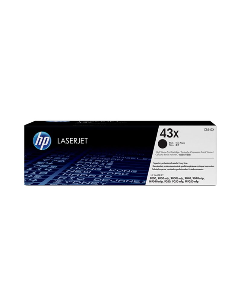 CARTUCCIA DI STAMPA SMART AD ALTA CAPACITA' HP NERO 30000PG.