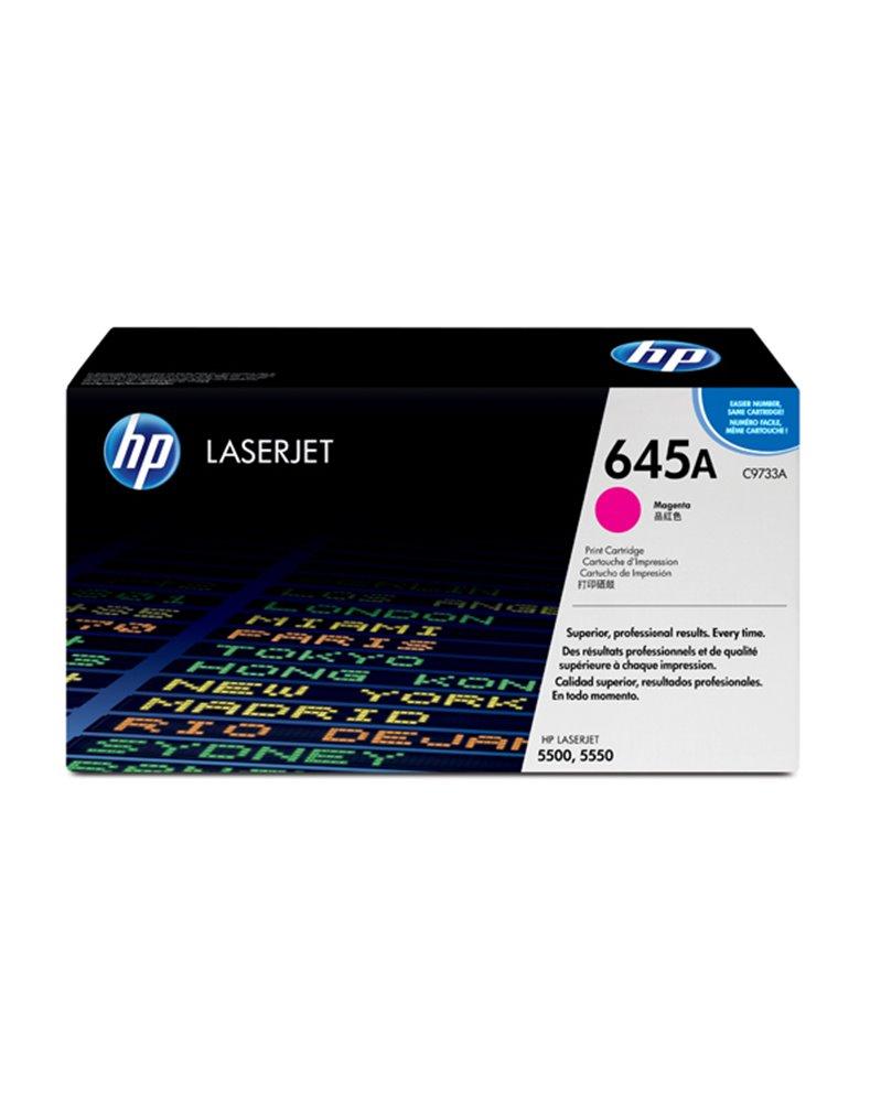 CARTUCCIA DI STAMPA SMART PER STAMPANTI HP COLOR LASERJET 5500 MAGENTA 12000PG.