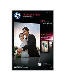 RISMA 25 FG CARTA HP PREMIUM PLUS GLOSSY PHOTO PAPER 25 SHTS 10X15