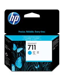 CARTUCCIA D'INCHIOSTRO HP 711 DA 29 ML CIANO