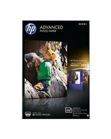 RISMA 100 FG CARTA HP ADVANCED GLOSSY PHOTO PAPER 250 G/M²-10 X 15 CM BORDERLESS