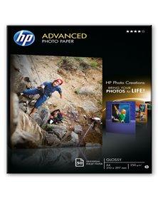 RISMA 50 FG CARTA FOTOGRAFICA HP ADVANCED PHOTO PAPER LUCIDA A4