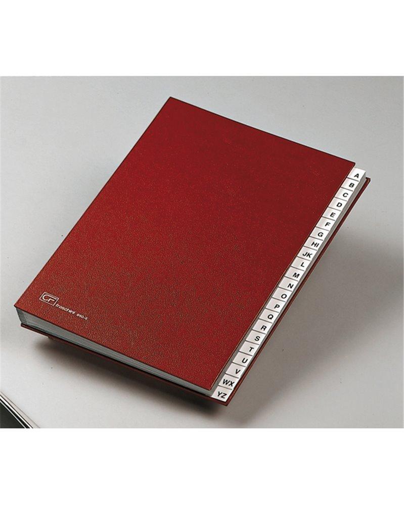MONITORE A/Z FRASCHINI FORMATO 24X34CM ROSSO ART. 640-E
