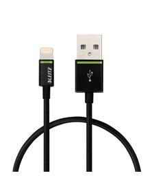 CAVO LIGHTNING A USB 30CM NERO LEITZ COMPLETE