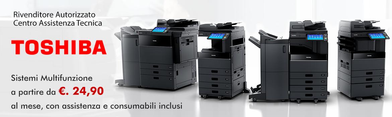 Noleggio Sistemi di Stampa Multifunzione Toshiba